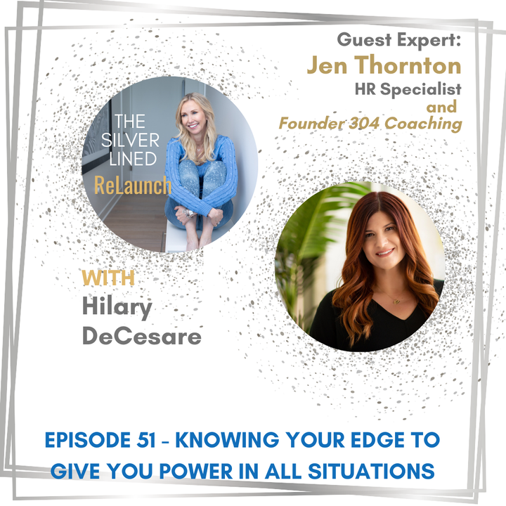 Episode image for Knowing Your Edge to Give You Power in All Situations with Jen Thornton Ep 51