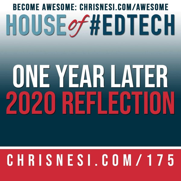 One Year Later. A 2020 Reflection - HoET175 Image