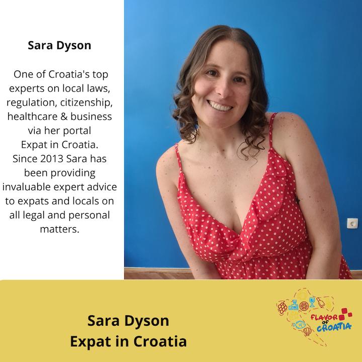 Sara Dyson- Expat in Croatia portal