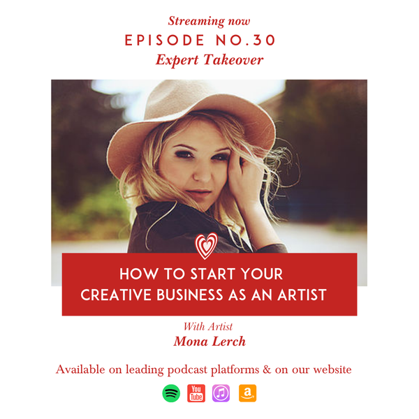 How to Start your Creative Business as an Artist by Expert Mona Lerch Image