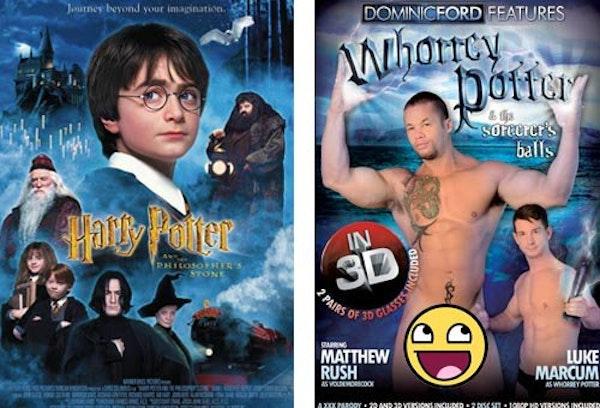 #14- Whorrey Potter And The Sorcerer's Balls Image