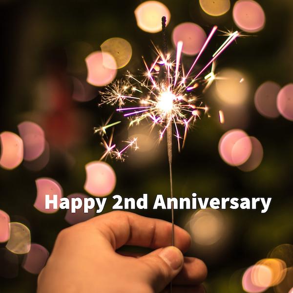 Happy 2nd Anniversary Image