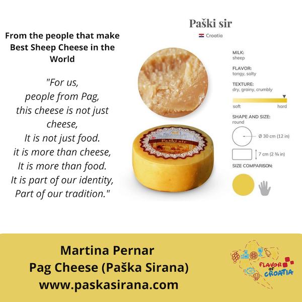World Best Sheep Cheese is made in Croatia
