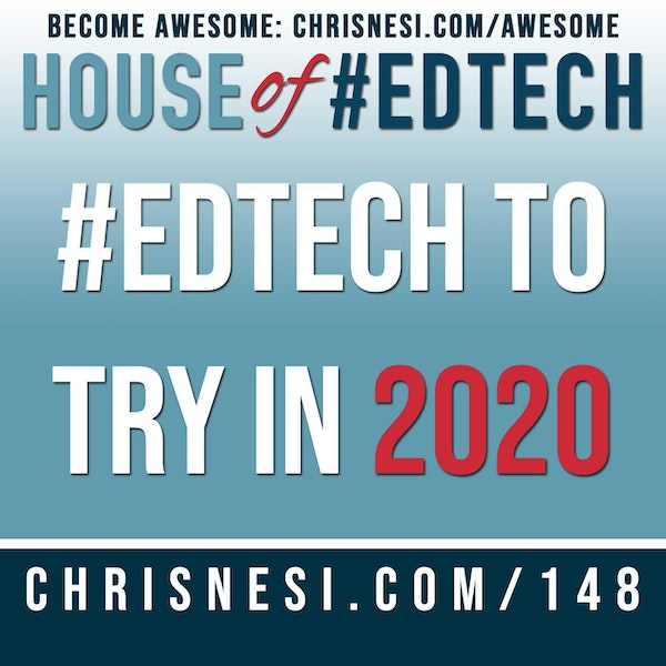 #EdTech to Try in 2020 - HoET148 Image
