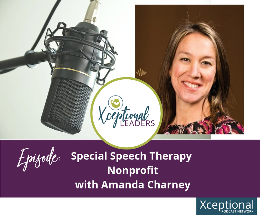 Special Speech Therapy Nonprofit with Amanda Charney