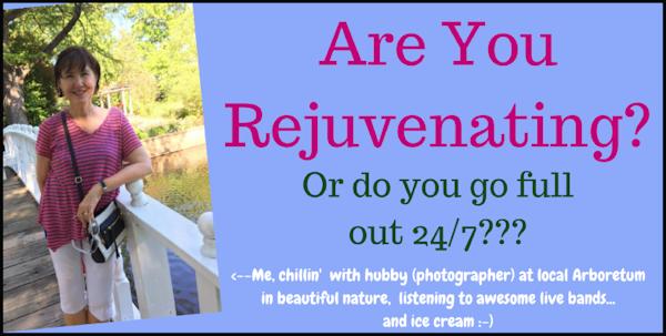 OAC 274 Are You Rejuvenating?