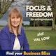 Focus & Freedom for entrepreneurs Album Art