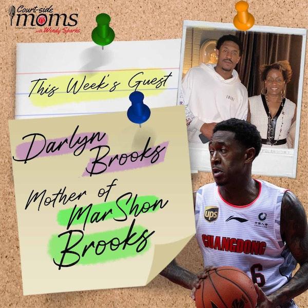 MarShon Brooks mom, Darlyn Brooks Image