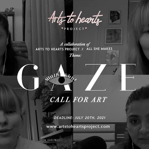 Gaze: Call For Women Artists | Artist Opportunities | Online Art Exhibit & Magazine Feature Image
