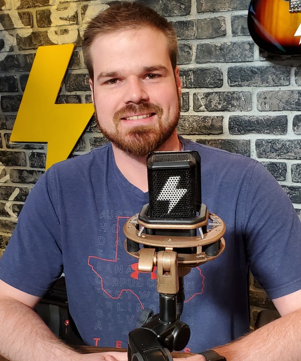 At The Mic (with Keith) - Episode 29 - Guest: Mark Tait (09/18/20) Image
