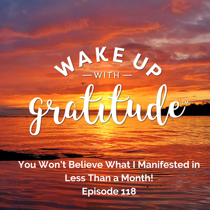 #118 - You Won't Believe What I Manifested in Less Than a Month!