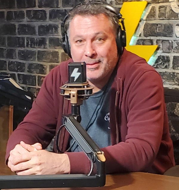 At The Mic (with Keith) - Episode 12 - Guest: Ed Bishop (5/22/2020) Image