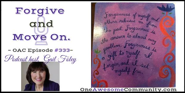 OAC 333 Forgive and Move On!