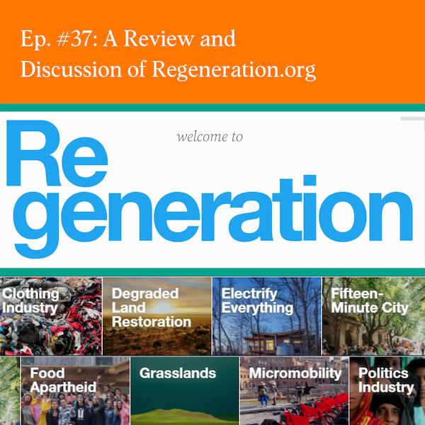 Regeneration Part 4: A Review of The Climate Activist Portal - Nexus - on Regeneration.org with Anca Novacovici, Tia Walden, Julie Lokun and Nicole Davis