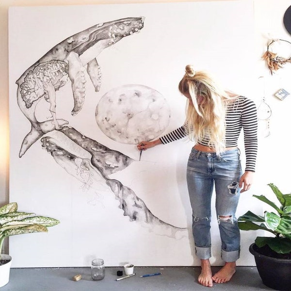 Ep. 2 Marissa Quinn: Nature's Narratives in Pen and Ink Image