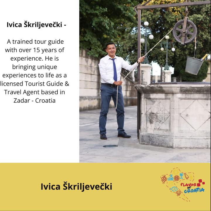 Ivica Škriljevečki - Zadar Tour Guide