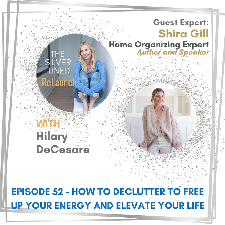 Episode image for How to Declutter to Free Up Your Energy and Elevate Your Life - with Shira Gill Ep 52