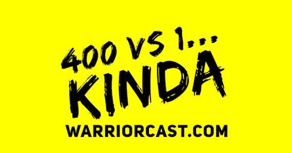 400 vs 1... kinda