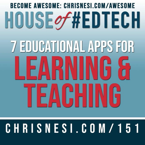 7 Educational Apps for Learning and Teaching - HoET151 Image