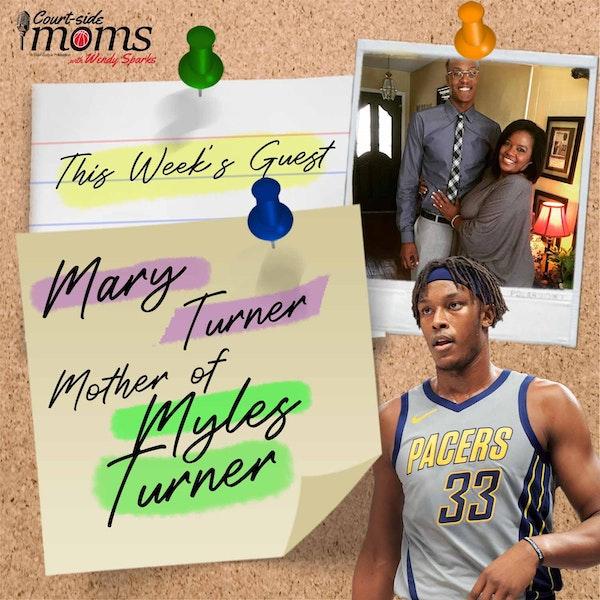 Myles Turner's mom, Mary Turner Image