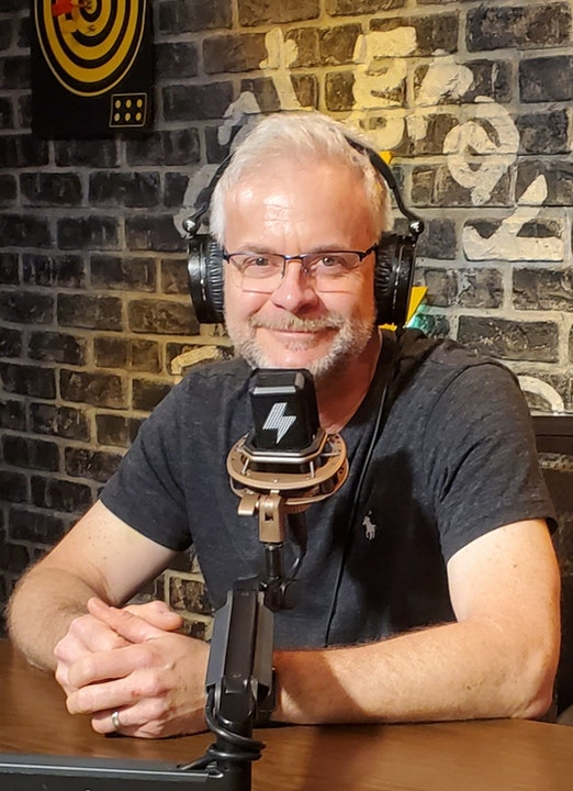 At The Mic (with Keith) - Episode 20 - Guest: Rob Chickering (7/17/2020) Image