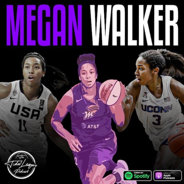 Megan Walker of the Phoenix Mercury Image