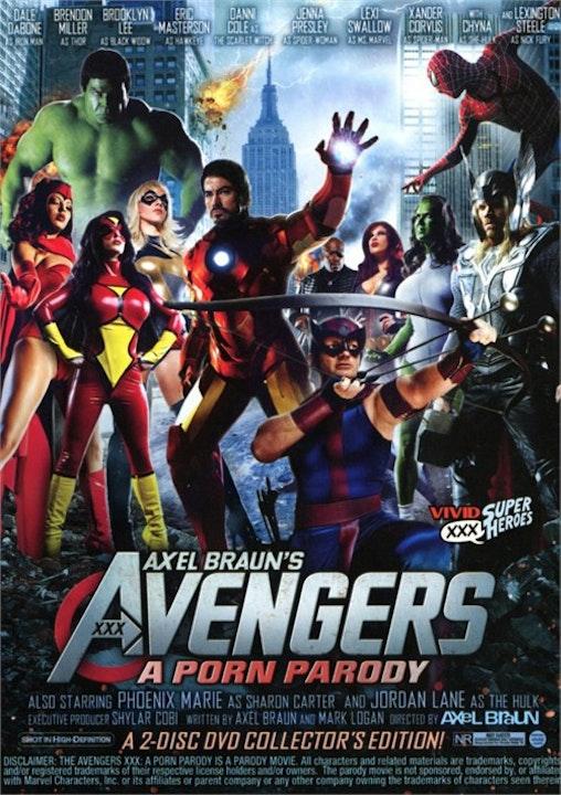#34- Avengers XXX Image