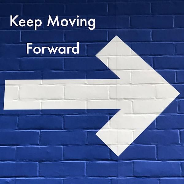 Keep Moving Forward Image