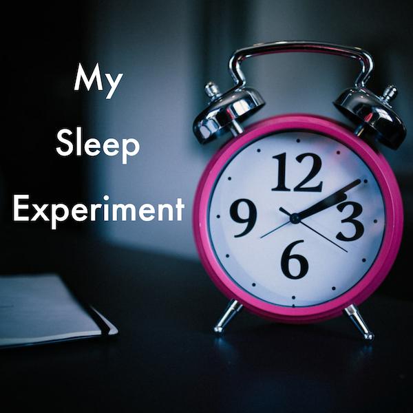My Sleep Experiment Image