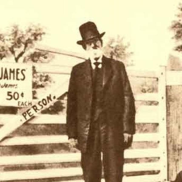 37 - The Old Shoe Salesman - Frank James