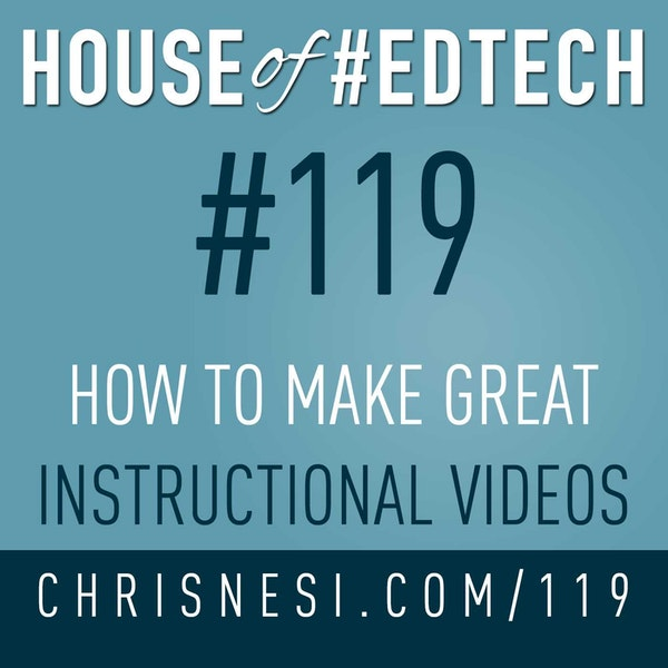 How To Make Great Instructional Videos - HoET119 Image