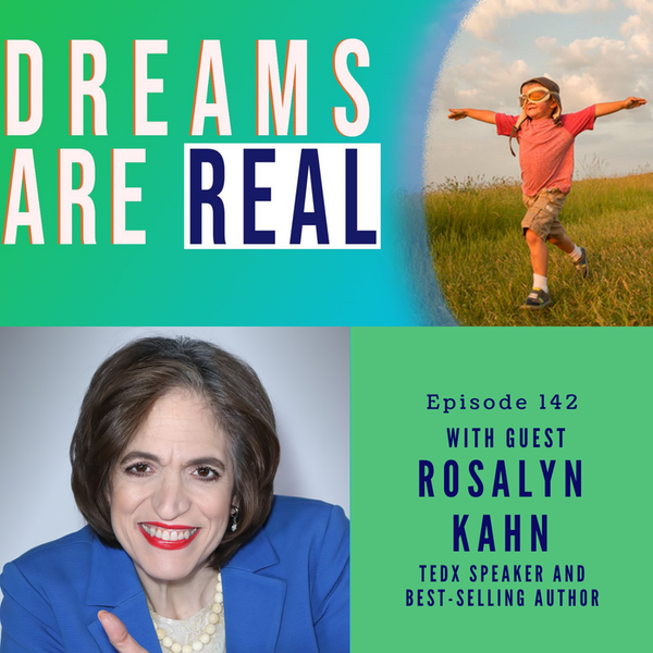 Ep 142: Learning to Speak with Your Authentic Voice with TEDx Speaker and Best-Selling Author Rosalyn Kahn Image
