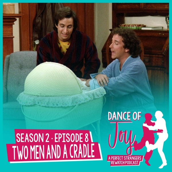 Two Men And A Cradle - Perfect Strangers Season 2 Episode 8