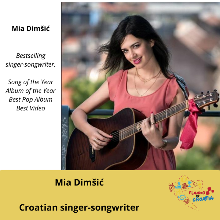 Mia Dimšić - Croatian singer-songwriter