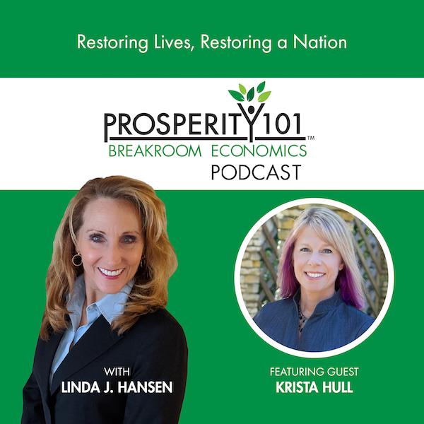Restoring Lives, Restoring a Nation – with Krista Hull [Ep. 76]