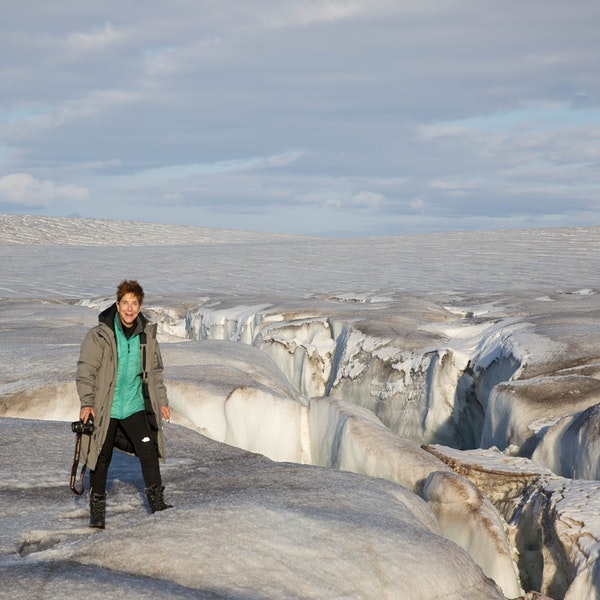 Ep. 6 Diane Burko: Polar Expeditions in Photo and Paint Image