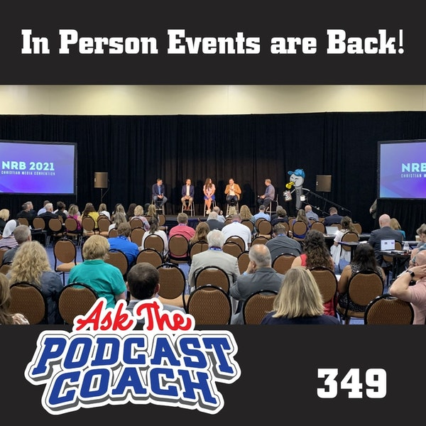 In Person Events ARE BACK!