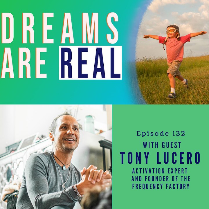 Episode image for Ep 132: Navigate from your headspace into your heart space with Activation Expert Tony Lucero