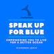 Speak Up For The Ocean Blue Album Art