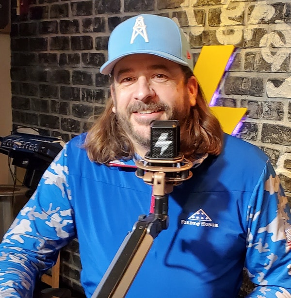 """At The Mic (with Keith) - Episode 18 - Guest: """"Party Foul"""" Steve Powell (7/3/2020) Image"""