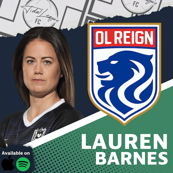 Episode image for Lauren Barnes | On Loan in Sweden | Growth in Women's Soccer | Journey Through the NWSL