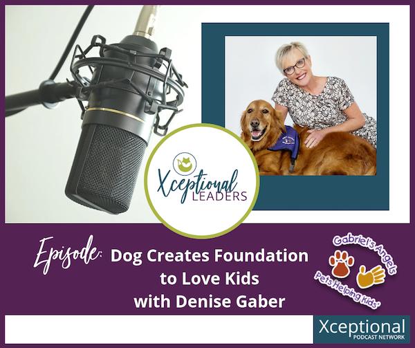 Dog Creates Foundation to Love Kids with Pam Gaber Image
