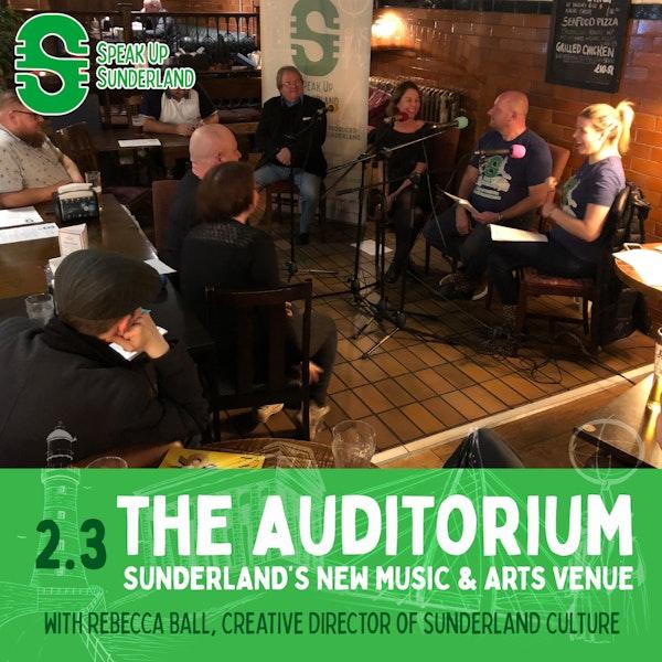 The Auditorium - Sunderland's New Music & Arts Venue Image