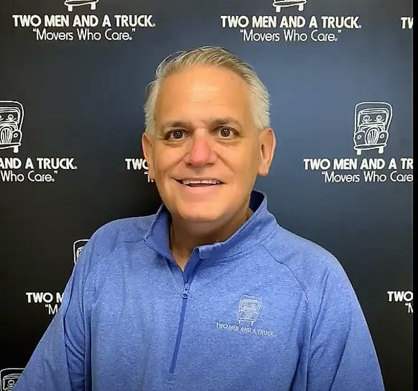 Pete Ruffing of Two Men and a Truck Image