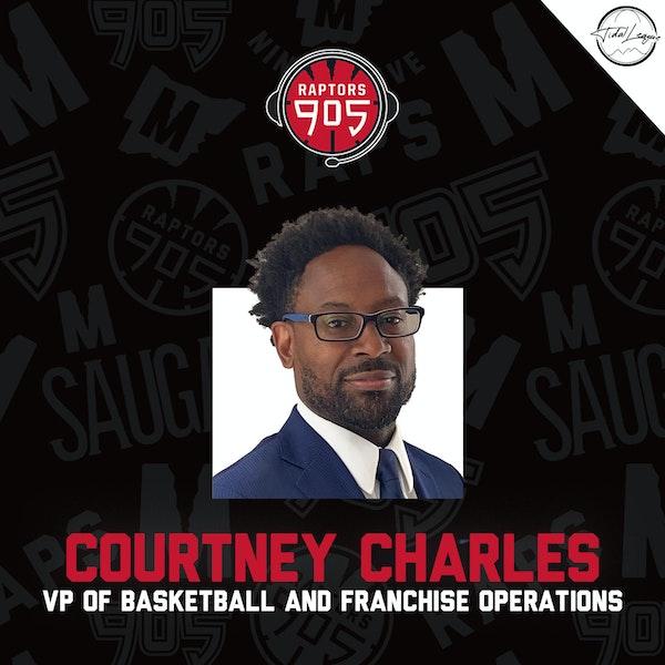 Courtney Charles   VP Basketball & Franchise Operations Raptors 905 Image