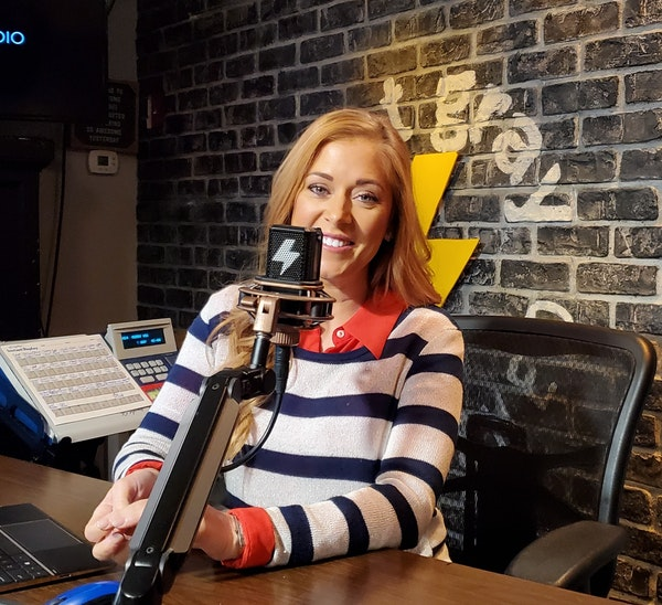 At The Mic (with Keith) - Episode 2 - Guest: Hilary Kennedy (3/13/2020) Image