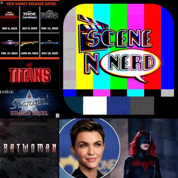 SNN: Titans Ends and Batwoman Returns.