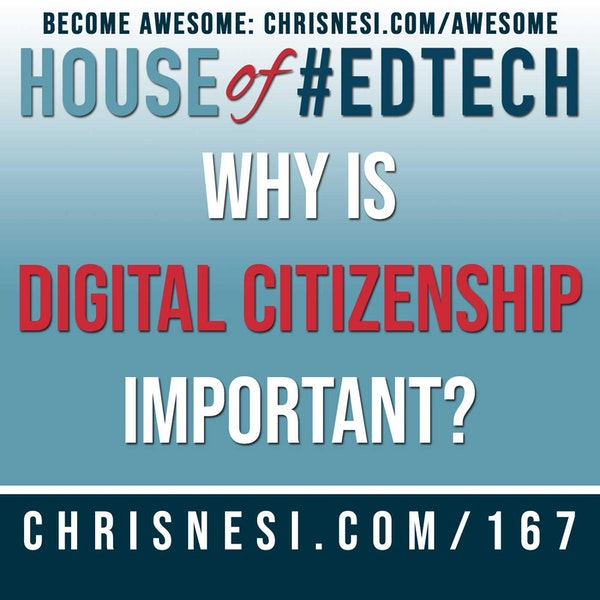 Why is Digital Citizenship Important? - HoET167 Image