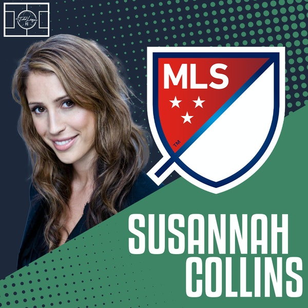 Susannah Collins | Covering the MLS | Predictions for MLS Playoffs | Growth of Women's Game in England Image