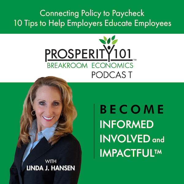 Connecting Policy to Paycheck - 10 Tips to Help Employers Educate Employees [Ep. 71]